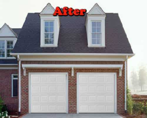 Garage door install Portland after