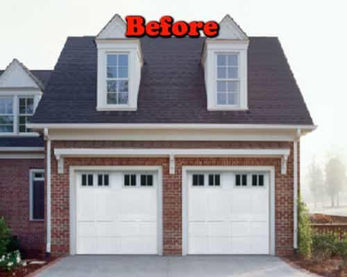 Garage door install Portland before